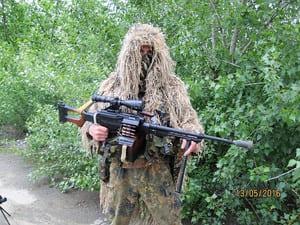 Помощь снайперам в АТО